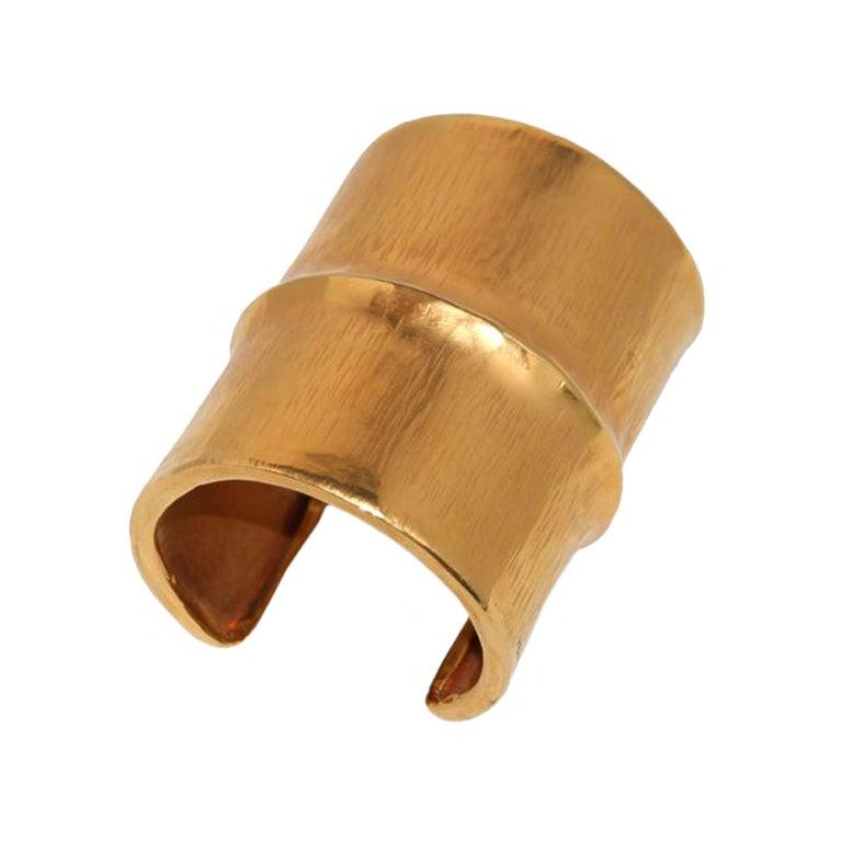 Hermes Unique Bamboo Bracelet Cuff 1956 1