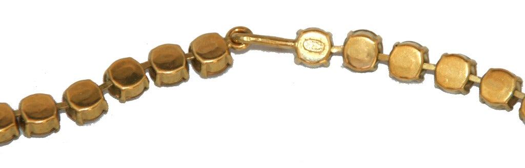 Crystal Vintage Chanel Necklace 1995 3