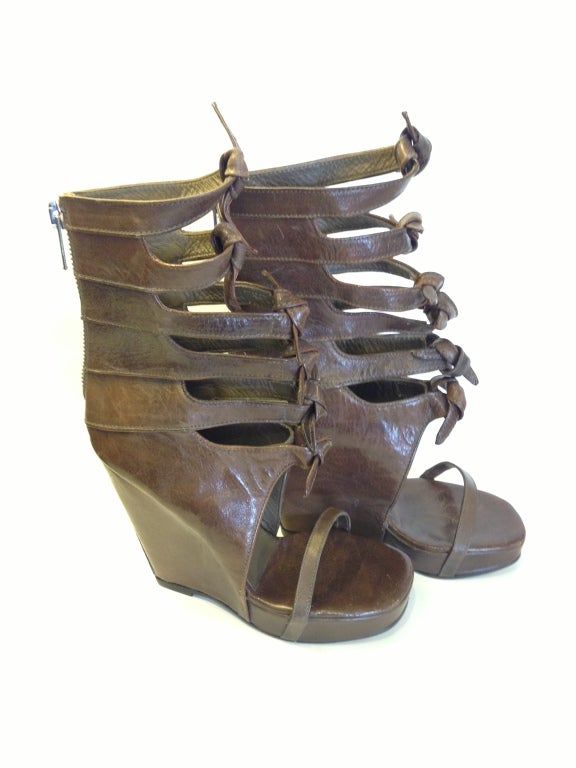 Rick Owens Knot Wedges 5