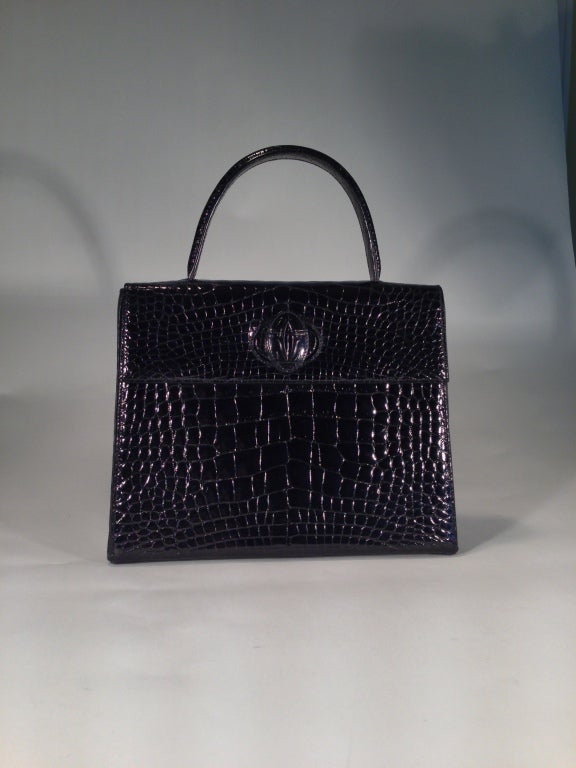 Cartier crocodile handbag 2