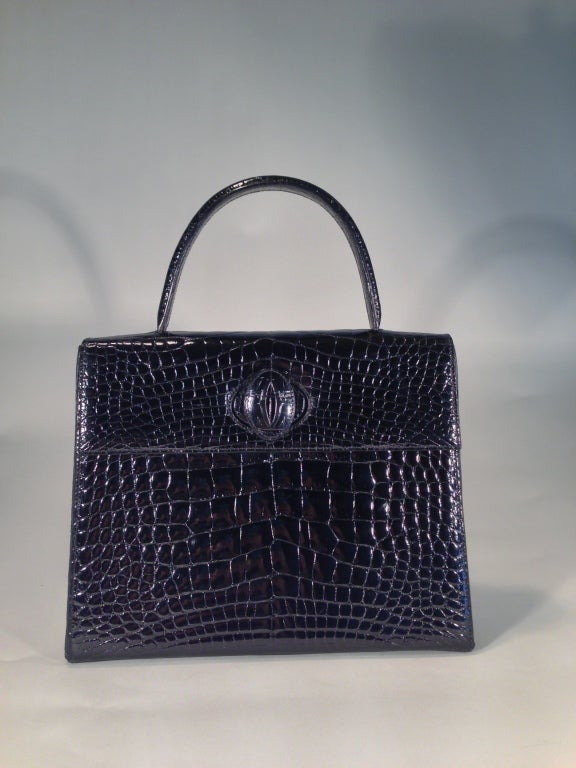 Cartier crocodile handbag 3
