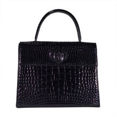 Cartier crocodile handbag