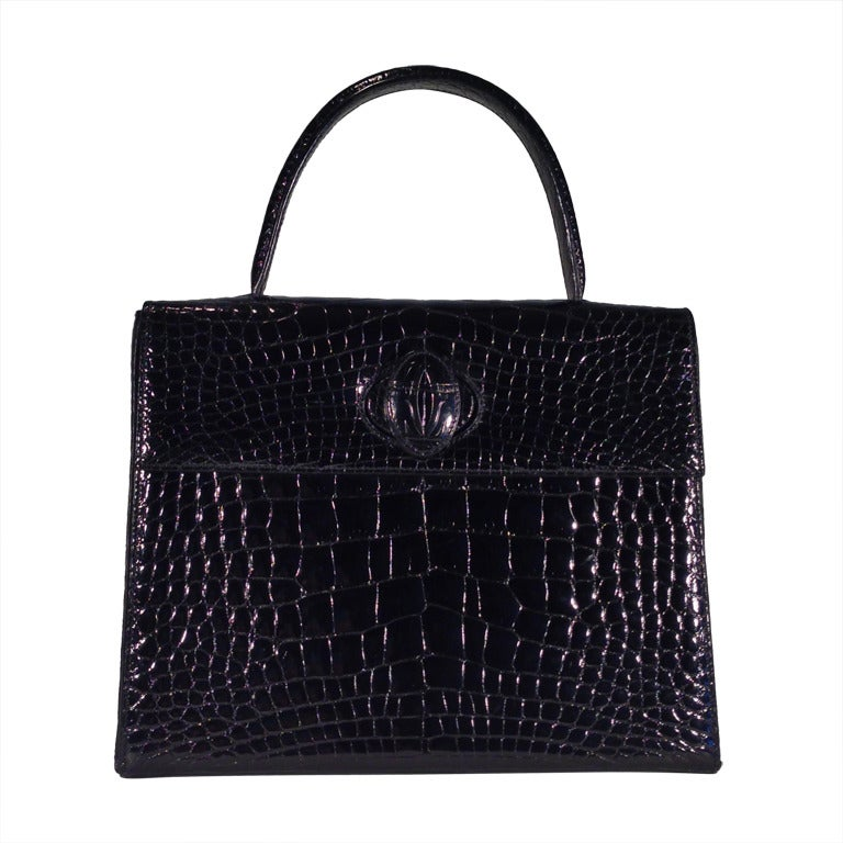 Cartier crocodile handbag 1