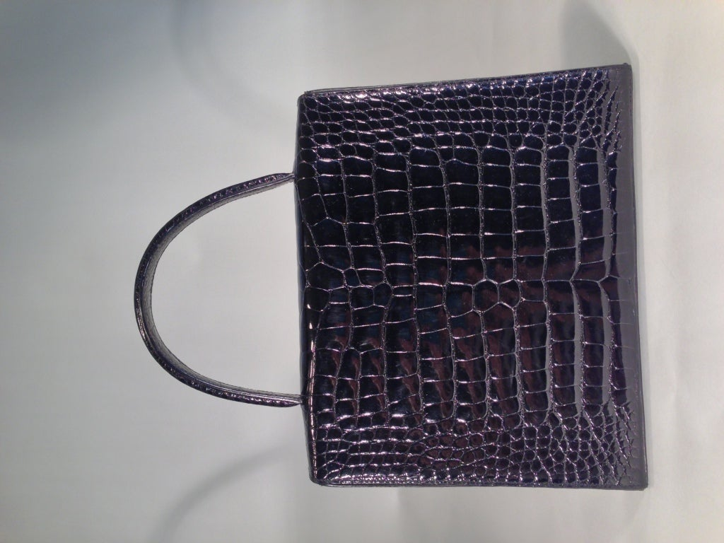 Cartier crocodile handbag 6