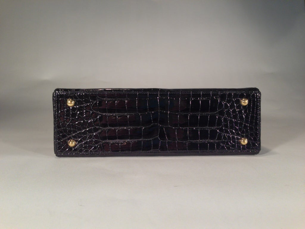 Cartier crocodile handbag 7