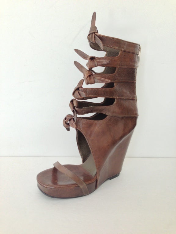 Rick Owens Knot Wedges 3