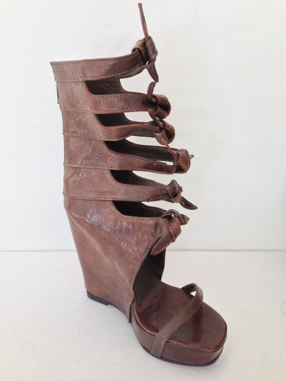 Rick Owens Knot Wedges 2