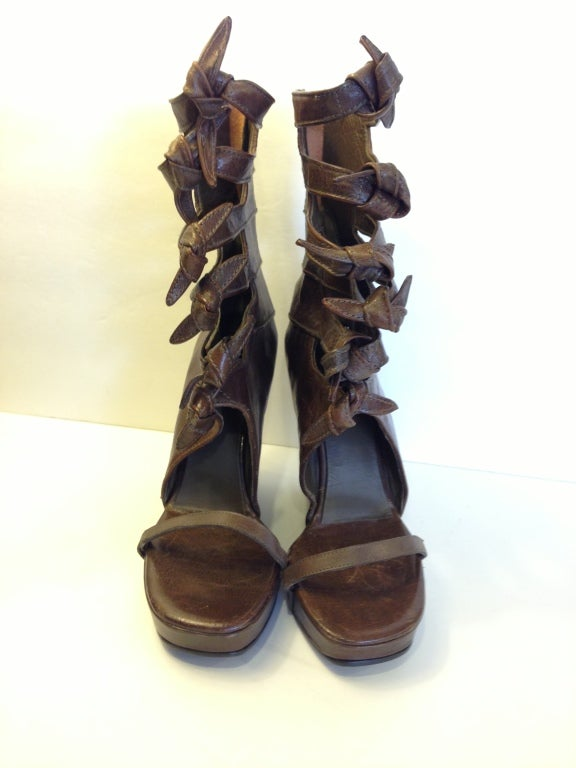Rick Owens Knot Wedges 7
