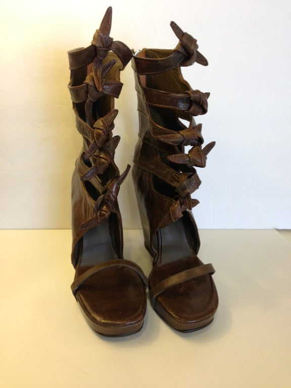 Rick Owens Knot Wedges 8