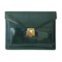 Tiffany & CO Green T-Buckle Bag