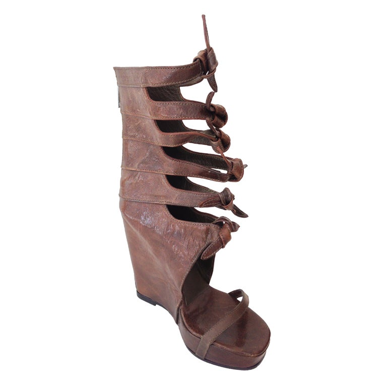 Rick Owens Knot Wedges 1