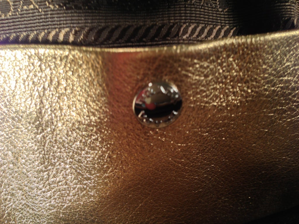 Prada Gold Lace Purse 8