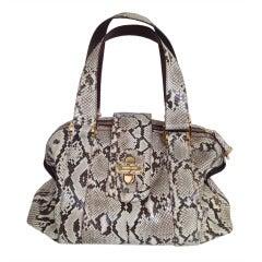 Michael Kors Large Python Bag