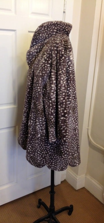 Women's Dior Spotted Mink Coat For Sale