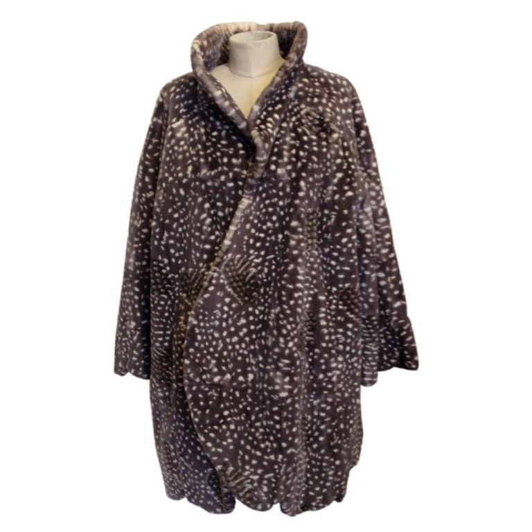 Dior Spotted Mink Coat For Sale