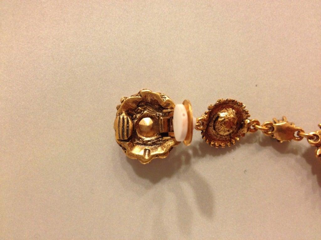 Oscar de la Renta Multi-Colored Jewel Earrings 6