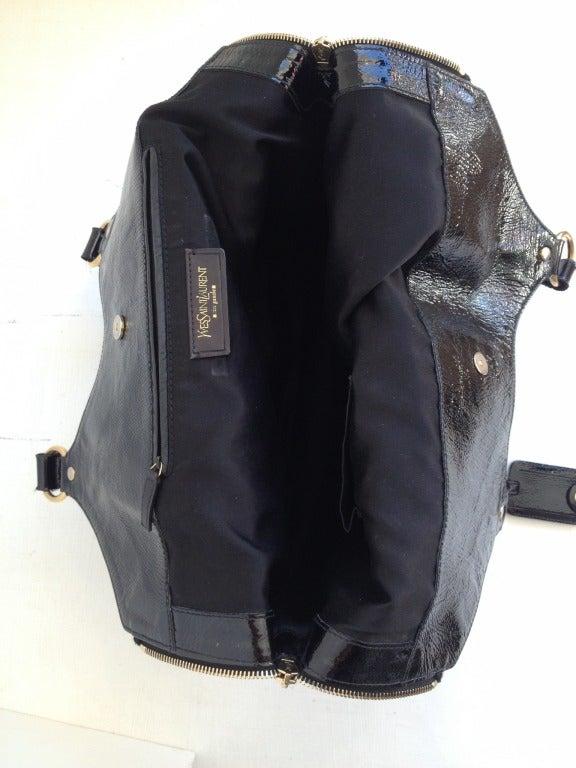 black ysl tribute bag