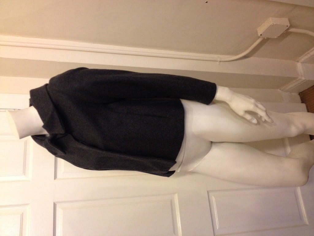 Black Marni Heather Gray Jacket For Sale