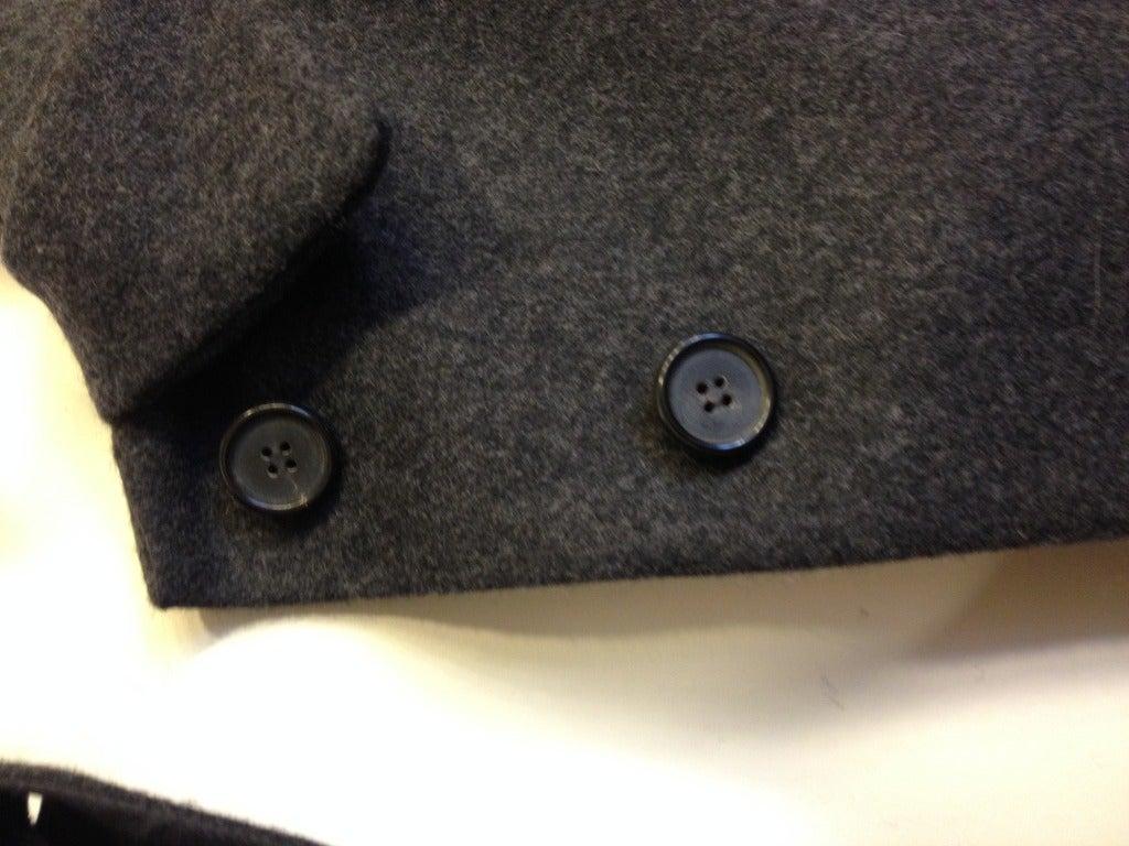 Marni Heather Gray Jacket For Sale 1