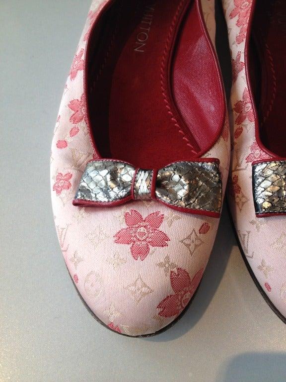 Louis Vuitton Cherry Blossom Murakami Ballet Flat 3