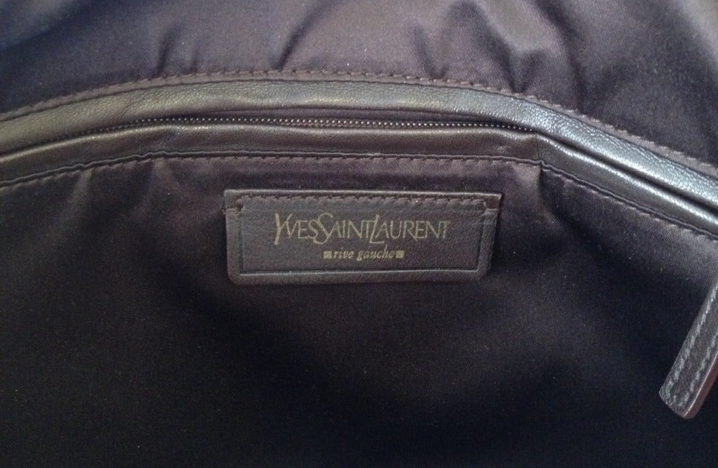Yves Saint Laurent Gold Muse Purse For Sale at 1stdibs