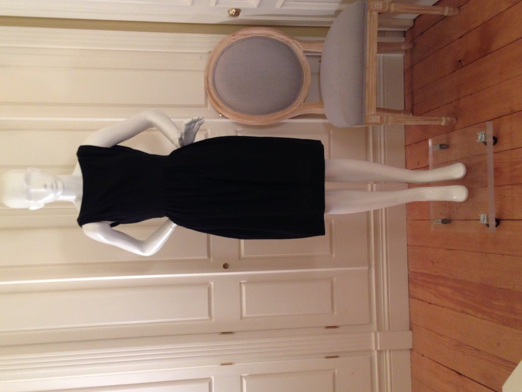 Balenciaga Black Cocktail Dress 2