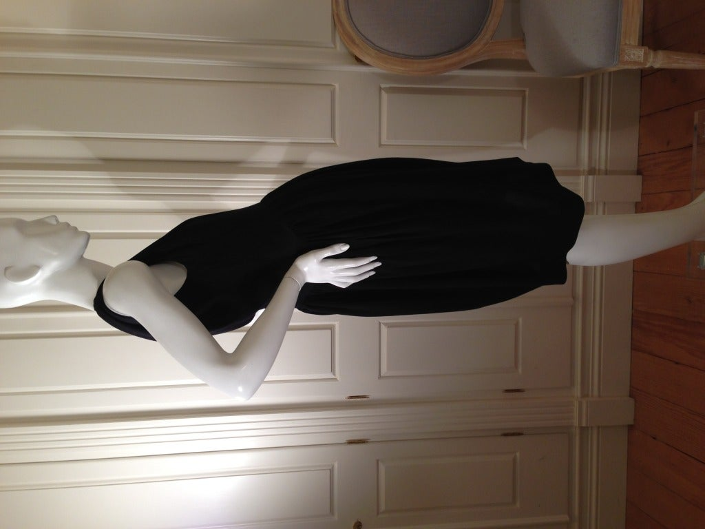 Balenciaga Black Cocktail Dress 3
