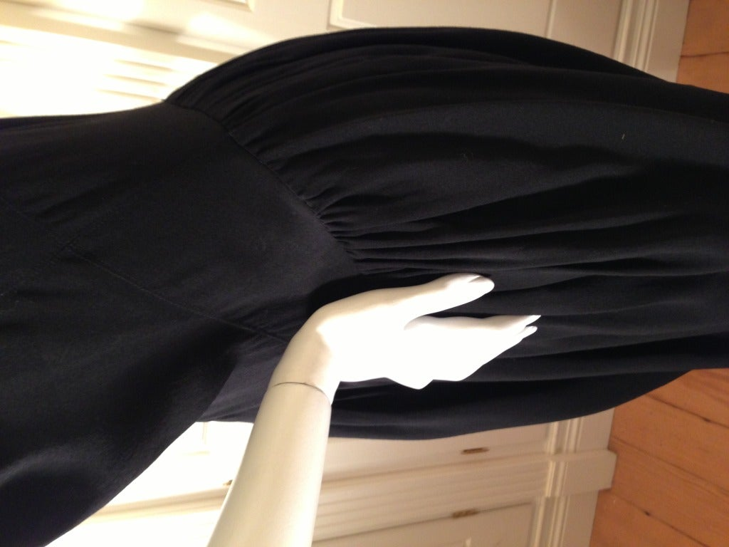 Balenciaga Black Cocktail Dress 4
