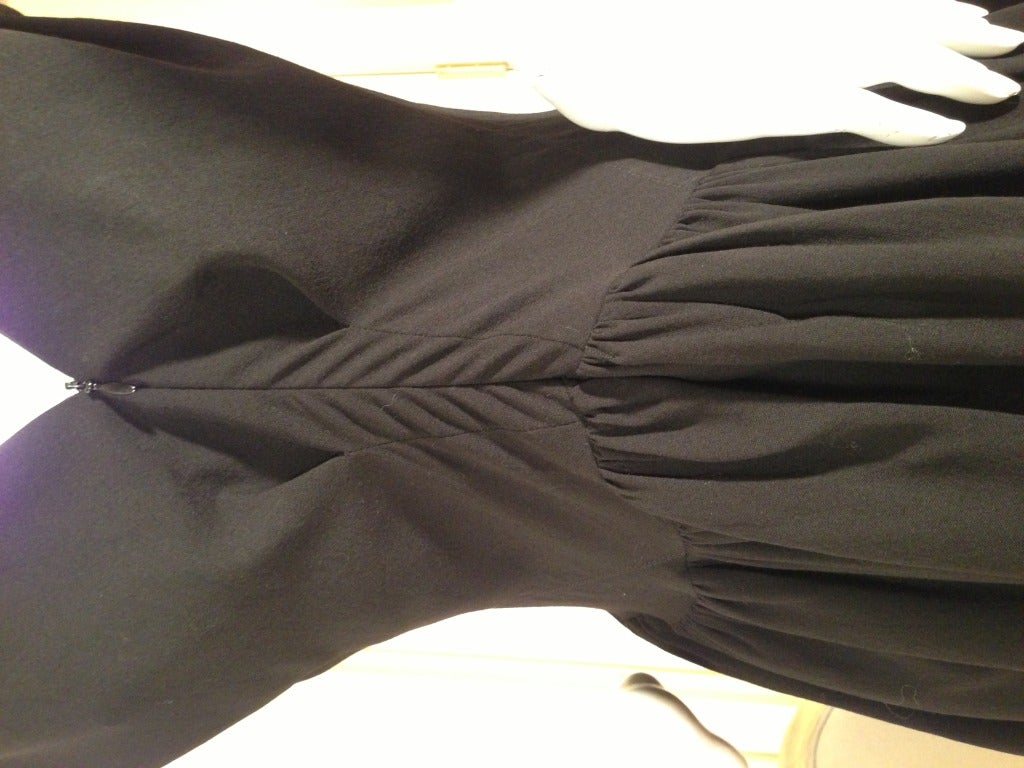 Balenciaga Black Cocktail Dress 5