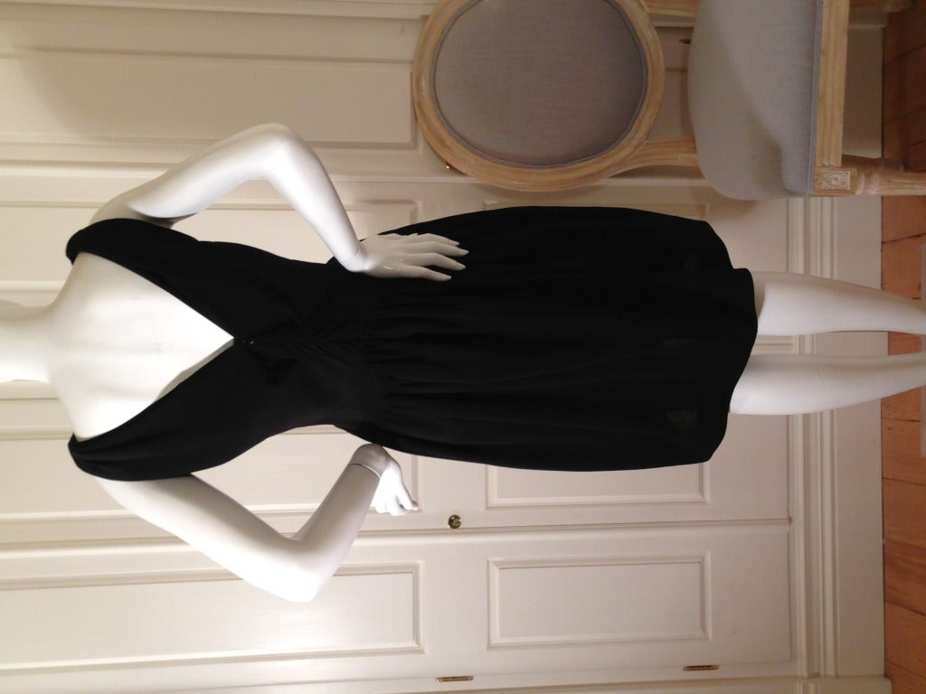 Balenciaga Black Cocktail Dress 6