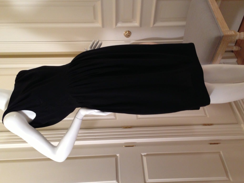 Balenciaga Black Cocktail Dress 7