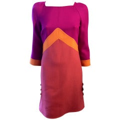 Emilio Pucci Colorblock Dress