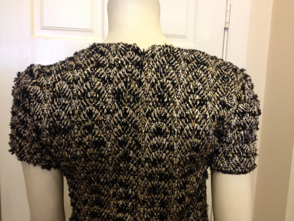 Women's Chanel Metallic Top For Sale