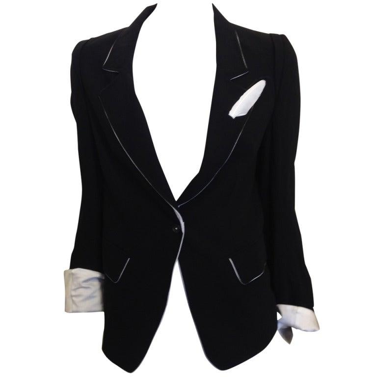 Ann Demeulemeester Jacket 1