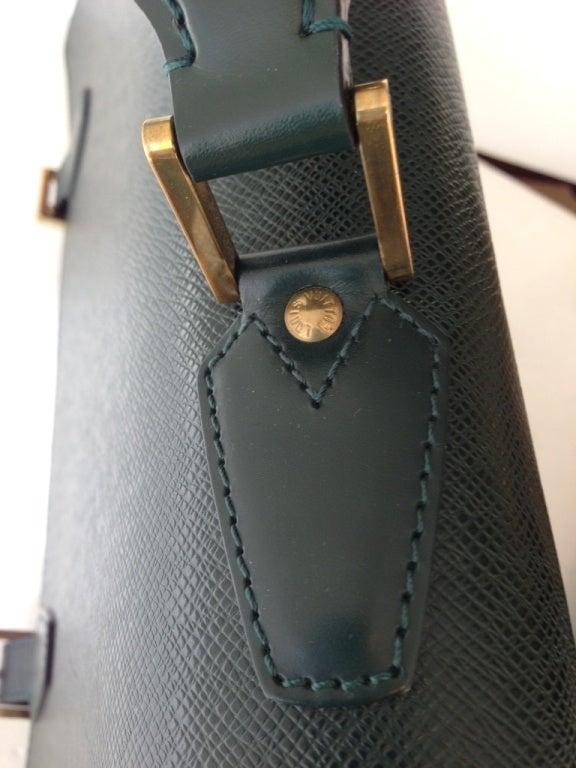 Louis Vuitton Green Attache Briefcase 2