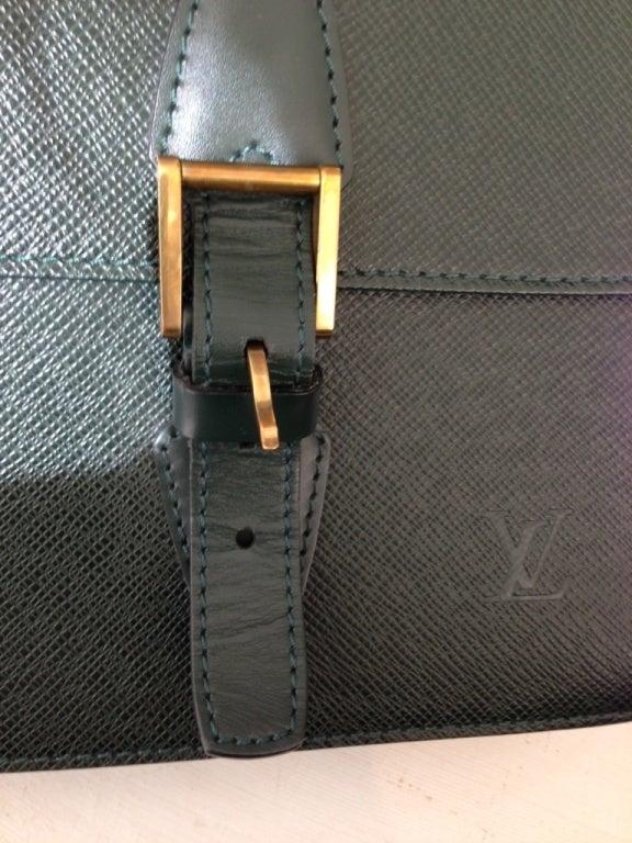 Louis Vuitton Green Attache Briefcase 6