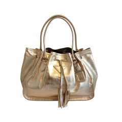 Prada Gold Purse