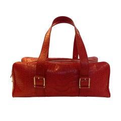 Red Croc Lambertson Truex Bag