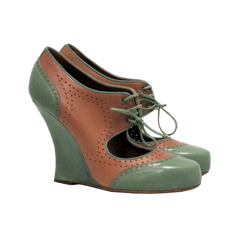 simmons oxford wedge at 1stdibs