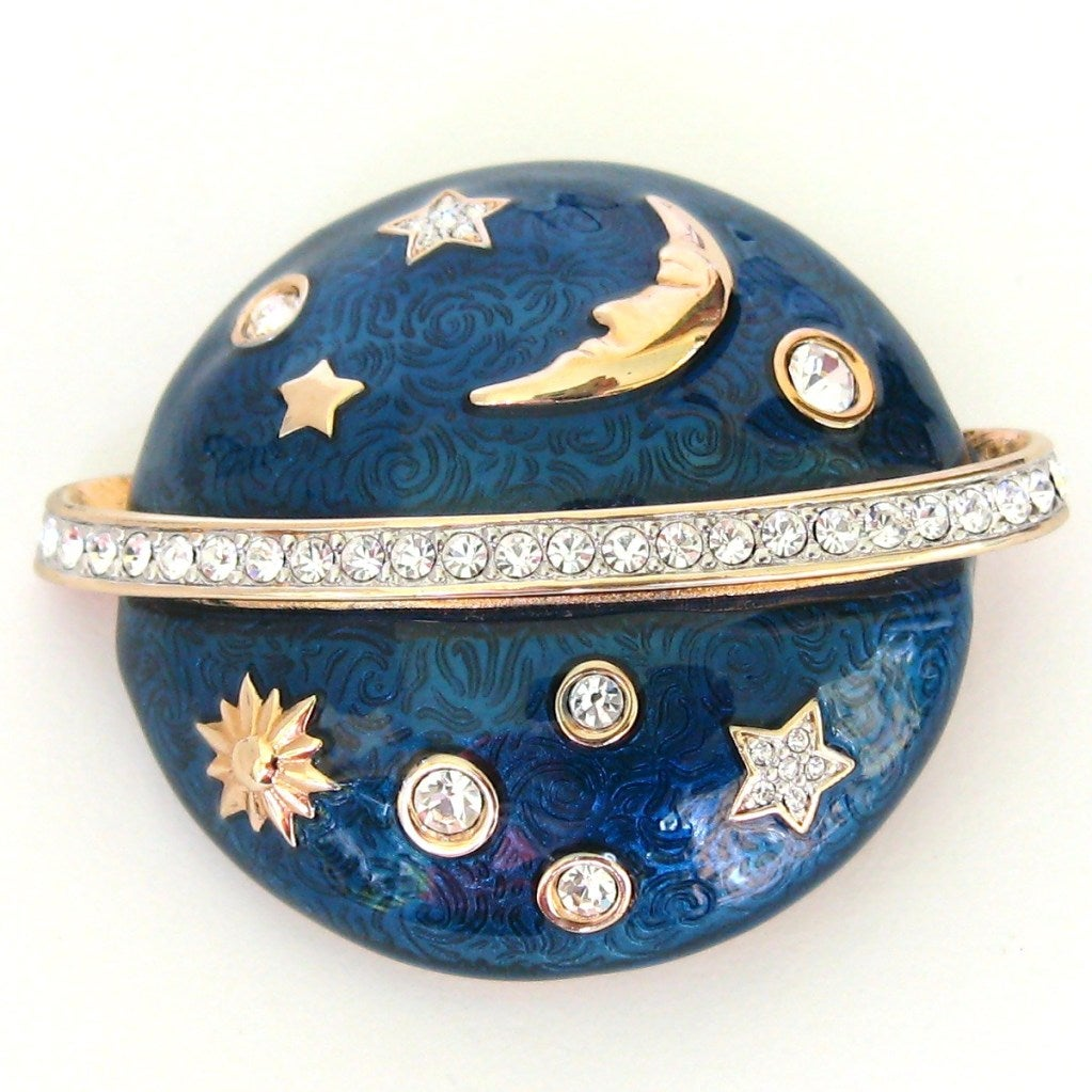 Swarovski The Moon & The Stars Brooch - Deadstock 2