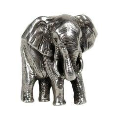 Carol Felley Sterling Silver Elephant Ring