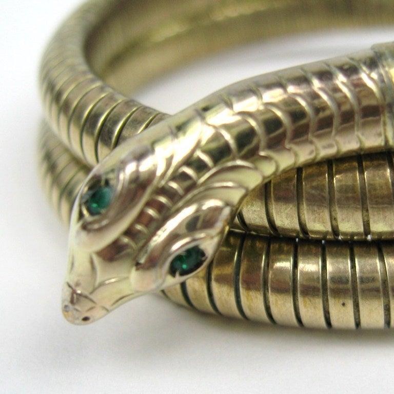 3 Coil Snake Bracelet 2