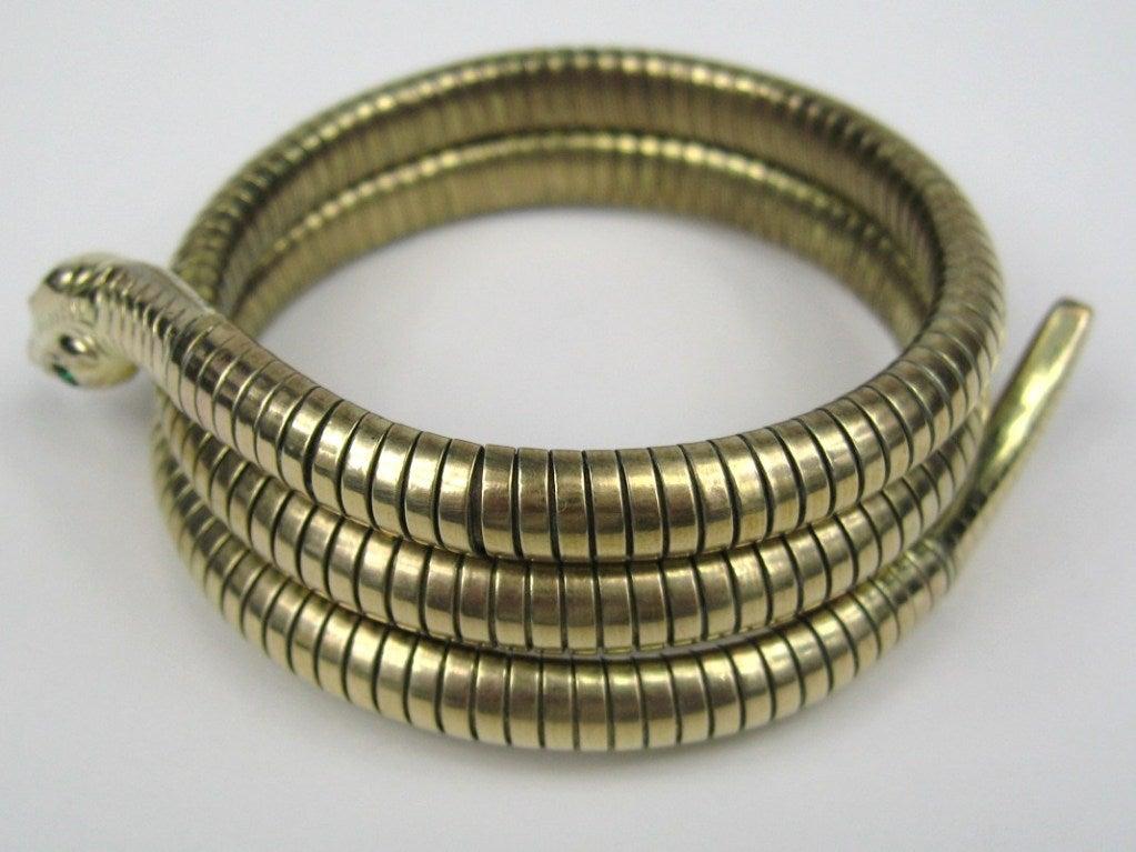 3 Coil Snake Bracelet 4