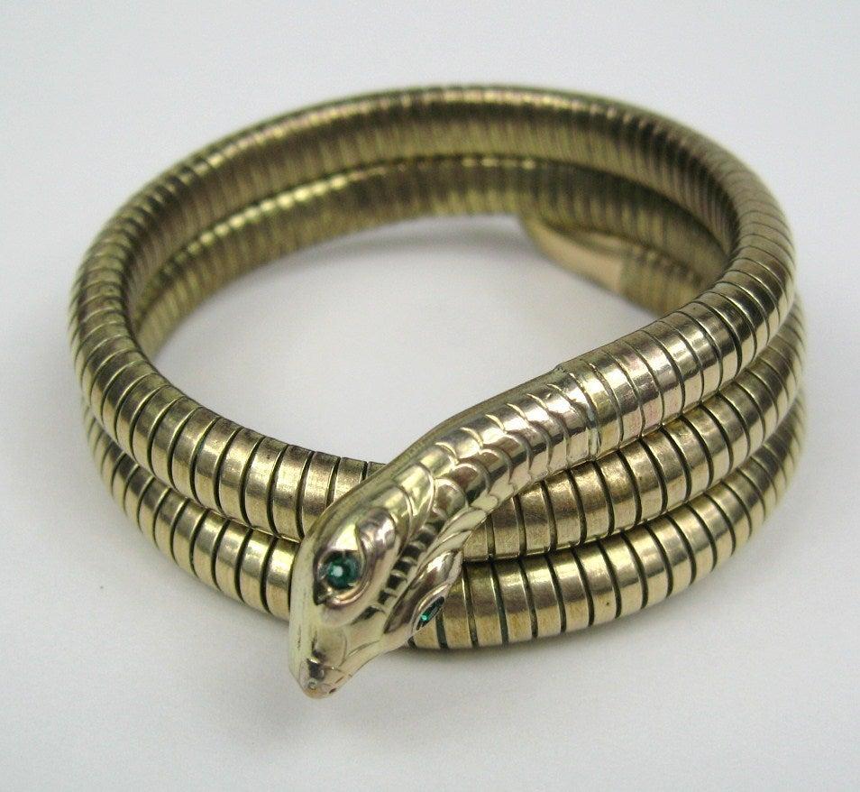 3 Coil Snake Bracelet 5