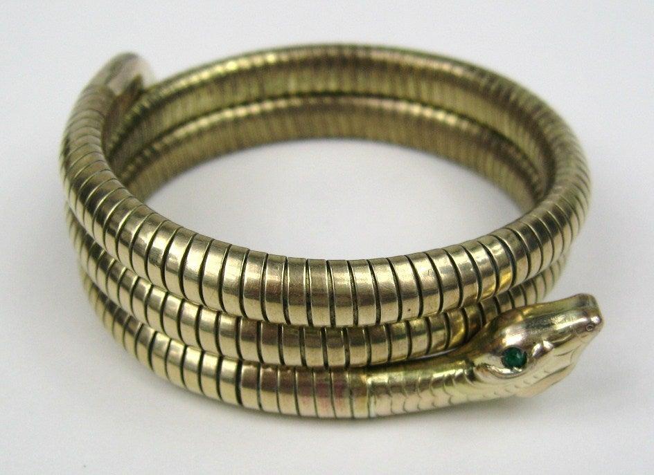 3 Coil Snake Bracelet 6