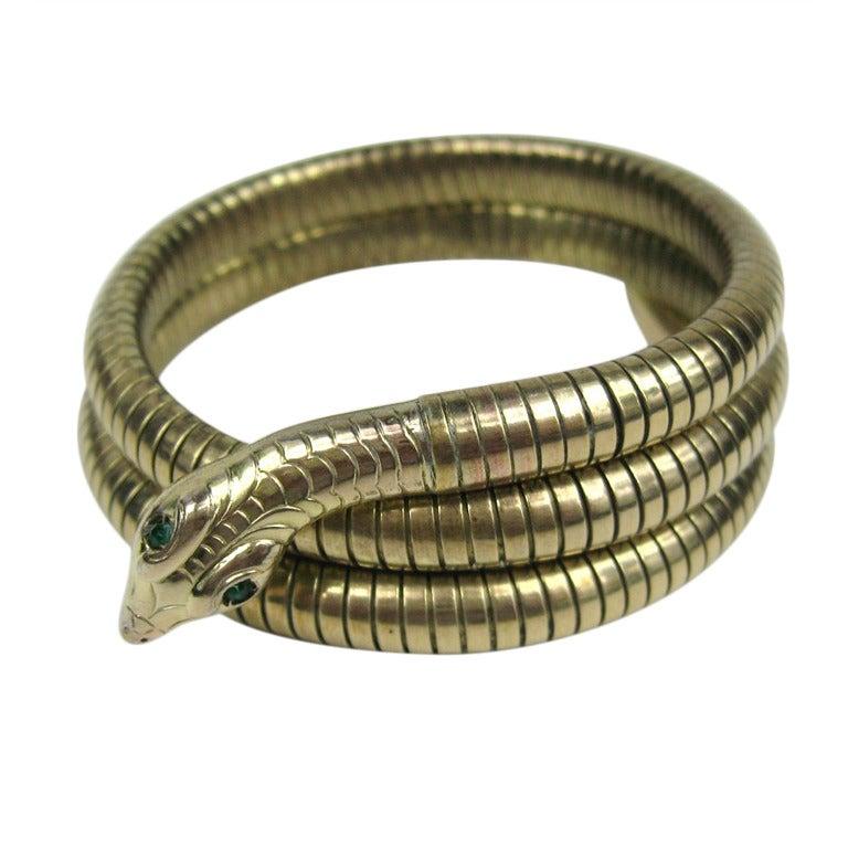 3 Coil Snake Bracelet 1
