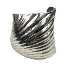Robert Lee morris RLM Sterling Silver Cuff Bracelet