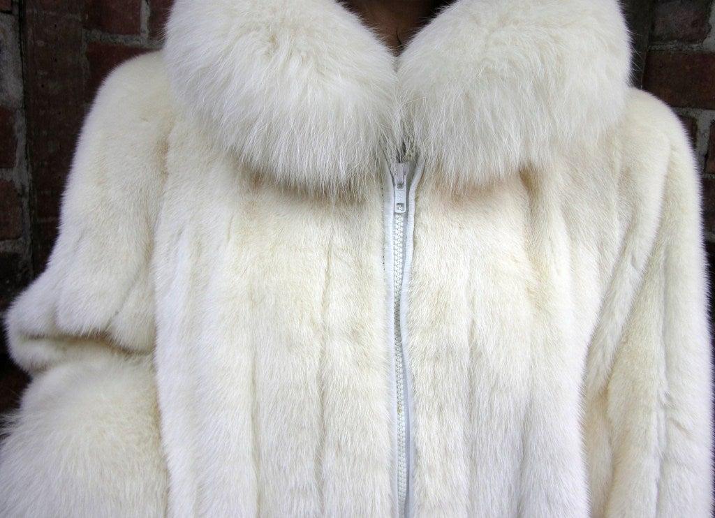 Christian Dior Mink & Fox Jacket Christian Dior Fourrure Coat  6