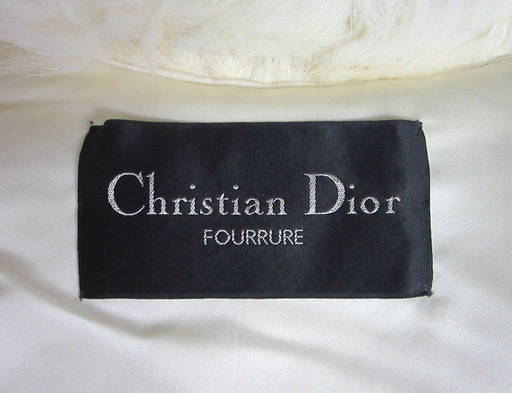 Christian Dior Mink & Fox Jacket Christian Dior Fourrure Coat  8