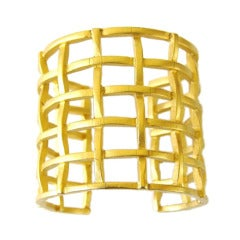 Karl Lagerfeld Cage Bracelet  Never worn 1990s